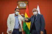 <b>Augusto Chávez asume como Viceministro de deportes</b>