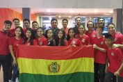 <b>El equipo Bolivia de Karate presente en Guayaquil</b>