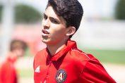 <b>Con sólo 16 años, Efraín Morales ficha para Atlanta</b>