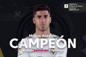 <b>Marco Asensio ganó La Liga Challenge</b>