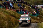 <b>Marco Bulacia terminó cuarto en el Rally de Gales</b>